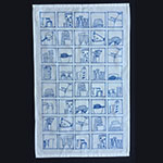 My Kitchen Teatowel in Blue