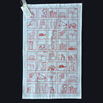 My Kitchen Teatowel in Red